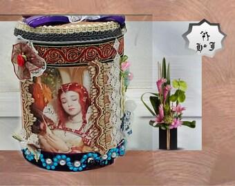Keepsake box. The Sleeping Beauty. Stash box. Fairy gift. New Year gift girls. New Year gift box. Birthday gift box. Magical gift girls.
