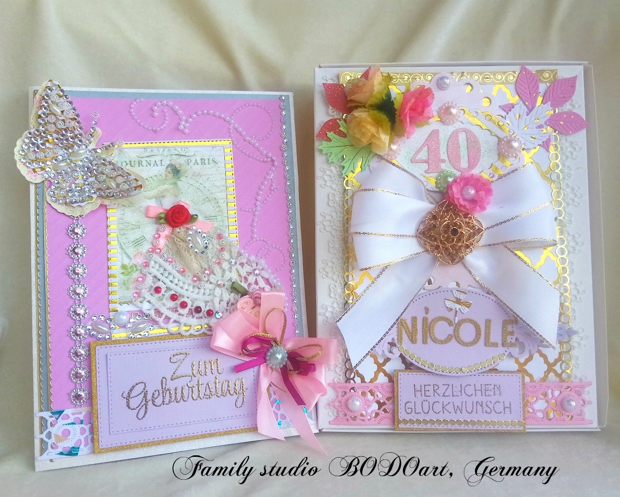 Birthday Card Personalized And Custom Color Greeting Card For Woman