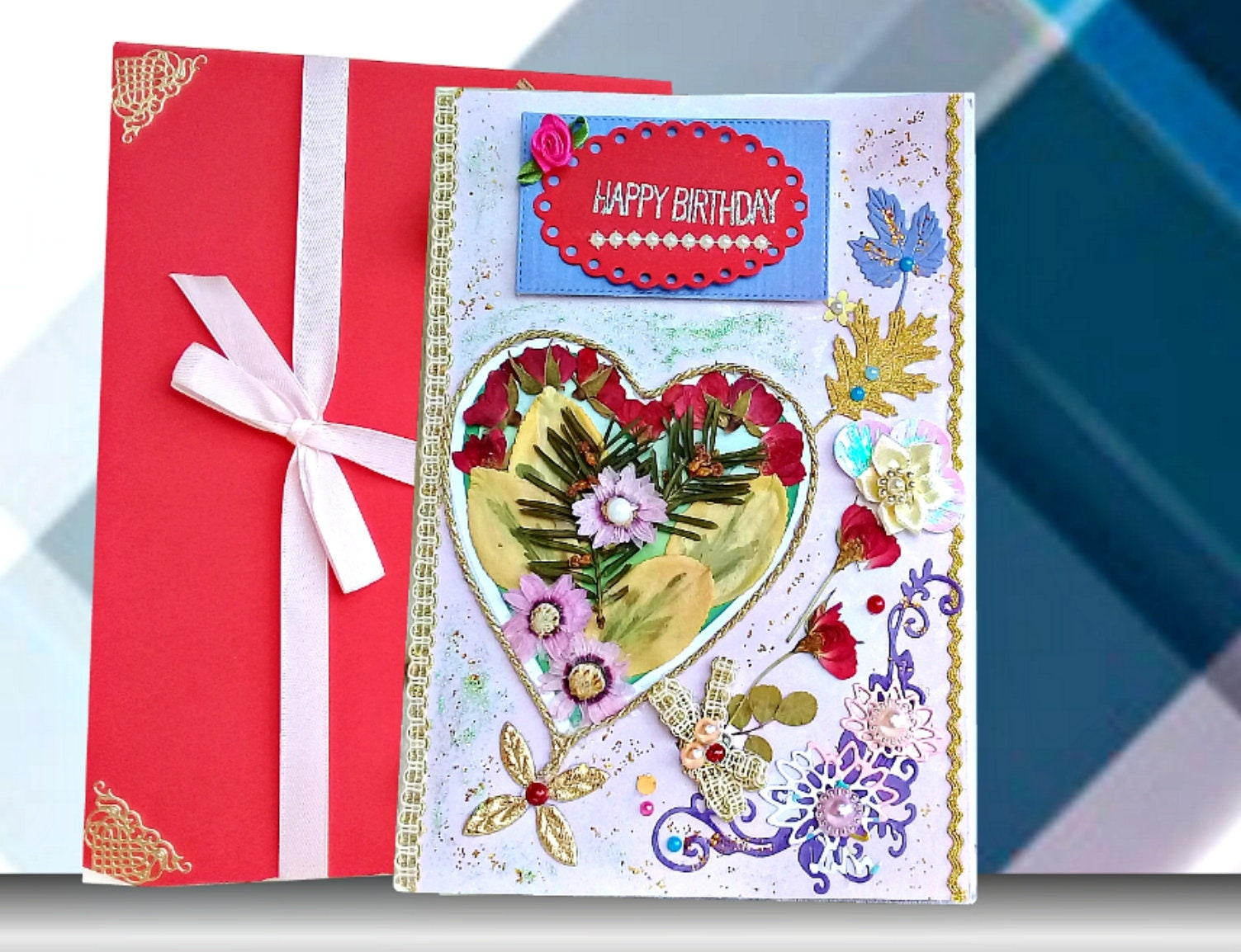 Happy Birthday Cards Mom Wife Card For Her Handmade Boxed Sister Girlfriend
