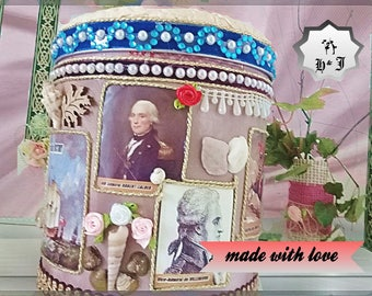 "Gift box for boys. "" The Battle of Trafalgar"". Kids adventure box. Treasure chest. Children gift box. Boy room decor. Playroom basket."