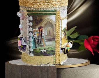 Fairy gift for girls. Mystery toy box. Keepsake box girls. Moonrise kingdom. Secret garden. Princess fairy gift. Magic under the sea.