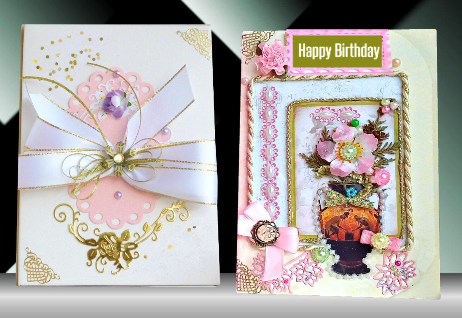 Friend Birthday Card For Mom Girlfriend Gift Fiance Romantic Best