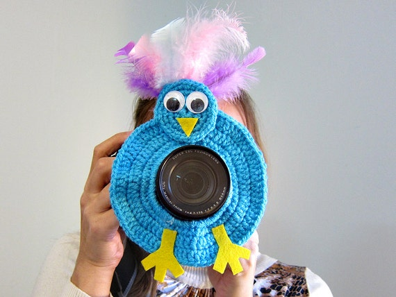 Kamera-Objektiv-Spielzeug häkeln Dame Fehler Objektiv | Etsy