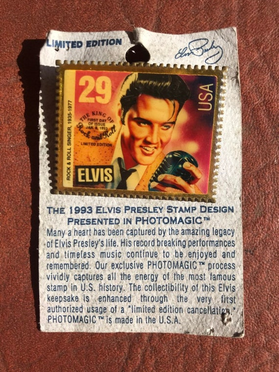 Limited Edition Elvis Presley The 1993