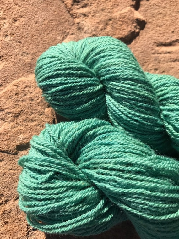 Teal, 1 oz Clun Forest Wool Roving