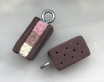Miniature Napoleon Ice Cream Charm