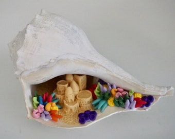 Large Conch Shell I