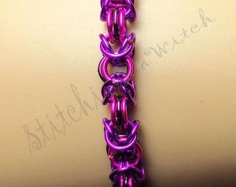 3 Color Byzantine Bracelet