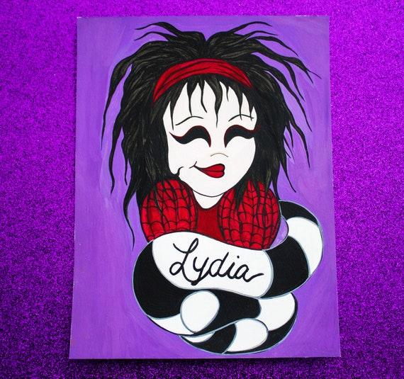 Lydia Beetlejuice Etsy