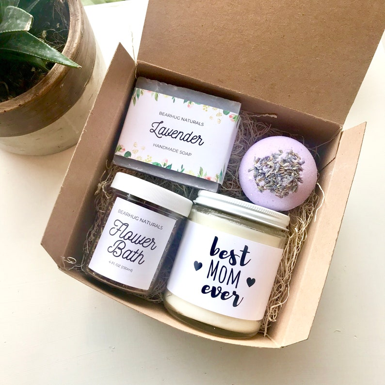 Mothers day gift box  Unique Gift for mom Personalized Spa image 0