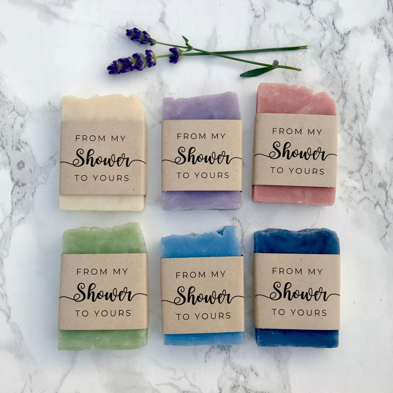 From My Shower to Yours Bridal Shower Favor 12 Pack  Baby image 0