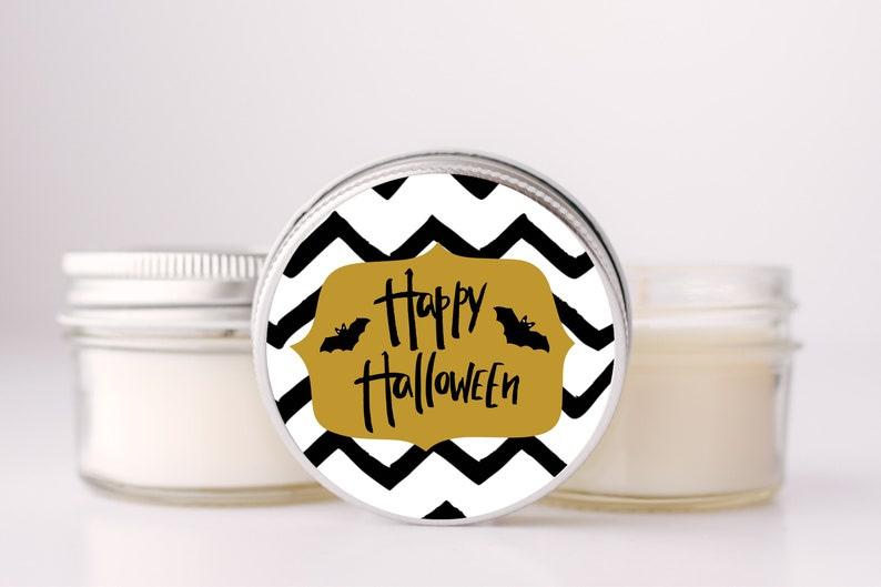Halloween Party Favor Candle Set of 6 Halloween Decor Fall image 0