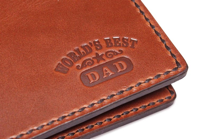 Mens Black Or Brown Leather Wallet Credit Card Holder Personalised Father Dad Uk Men's Accessories Wallets