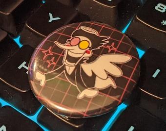 """Spamton Angel Button (1.25"""")"""