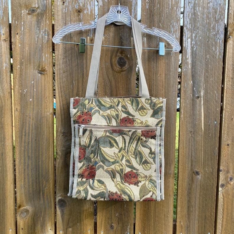 VINTAGE 1990s Ladybug Tote Bag