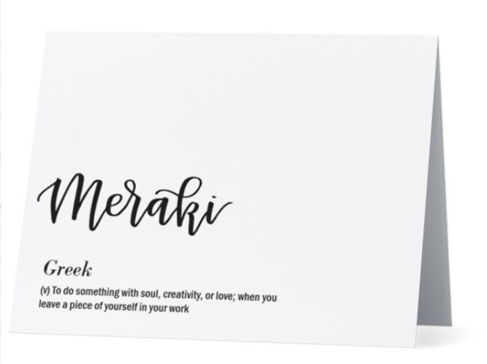 Meraki greek greeting card inside congratsjob well done etsy meraki greek greeting card inside congrats job well done foreign language calligraphy card white card and envelope m4hsunfo