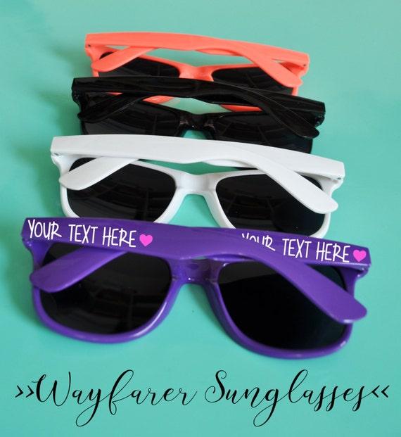 afcccf53ea Custom Personalized Bridal Party Bachelorette Party Sunglasses