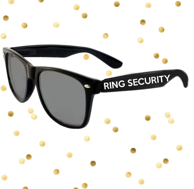 e99d0dd3eb Ring Security Custom Kids Sized Wedding Ring Bearer Sunglasses