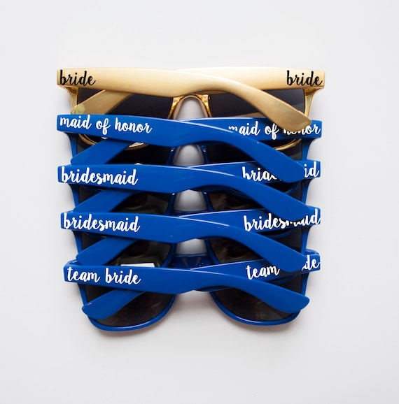 035ab9f974 Navy Blue Sunglasses Gold Sunglasses Personalized