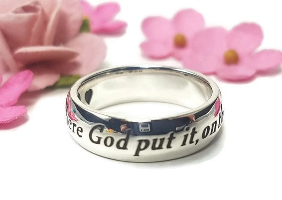This Too Shall P Quote | F Scott Fitzgerald Quote Ring Inspirational Quote Etsy