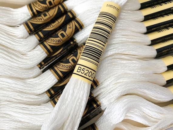DMC 6-Strand Embroidery Cotton Floss Snow White