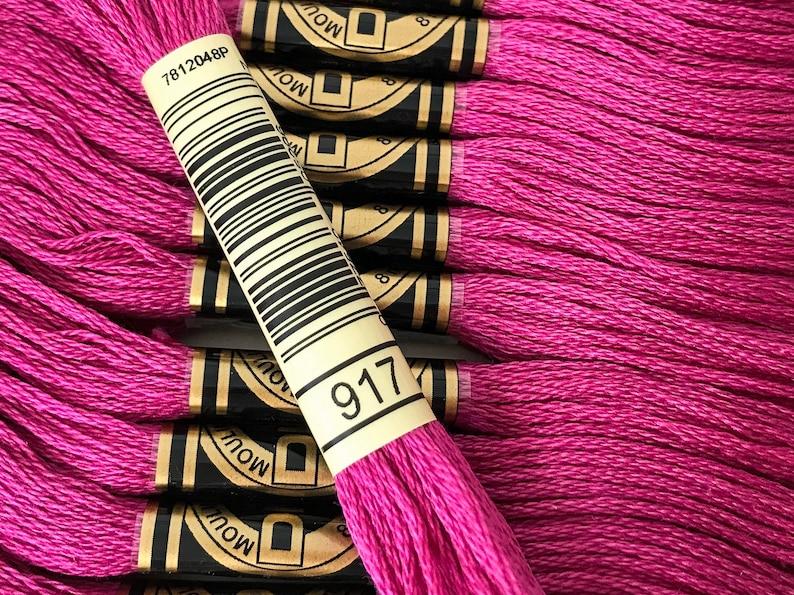 DMC 8 metre cotton cross stitch thread DMC 341 Light Blue Violet Quantity 1