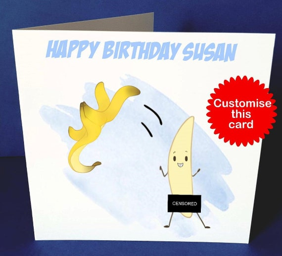 Funny Stripper Personalised Card Etsy