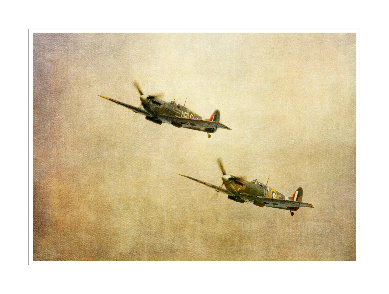 spitfire spitfires flying planes A4 fine art print ww2   Etsy