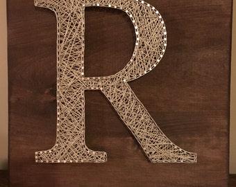 String Art Letter