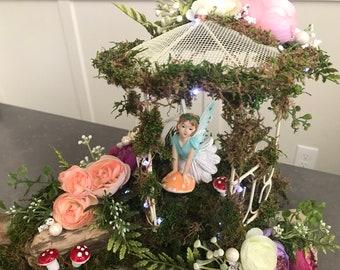Fairy Centerpiece Enchanted Forest Tinker Bellwedding Etsy