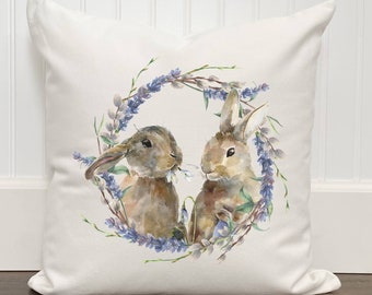 Easter Bunny Pillow Etsy