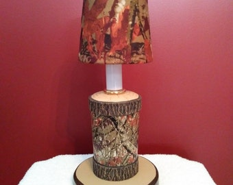 Tree Stump Accent Lamp