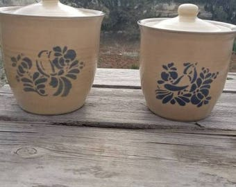 bird canisters etsy