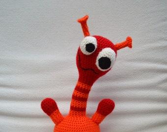 Monster crochet toy - amigurumi - Plagi the Monster