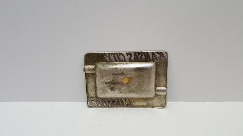 Missouri Metal Ash Tray Vintage Souvenir Kansas City