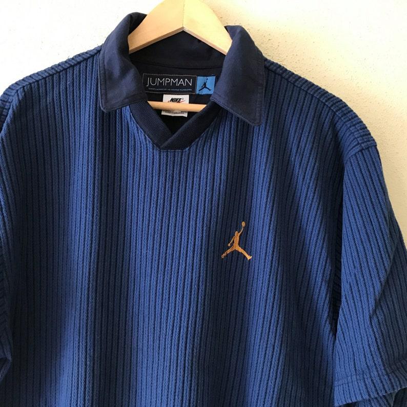 7673886e RareVintage 90's NIKE AIR JORDAN jumpman Polo shirt | Etsy