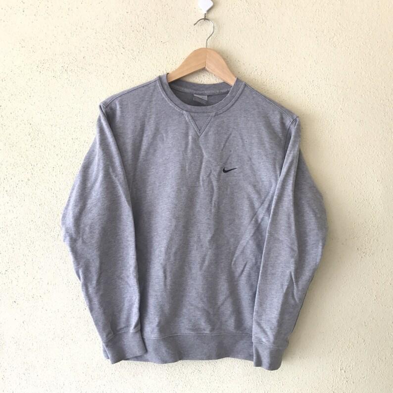 4c77dd4477c RareVintage 90's NIKE Swoosh Sweatshirt Small Logo | Etsy