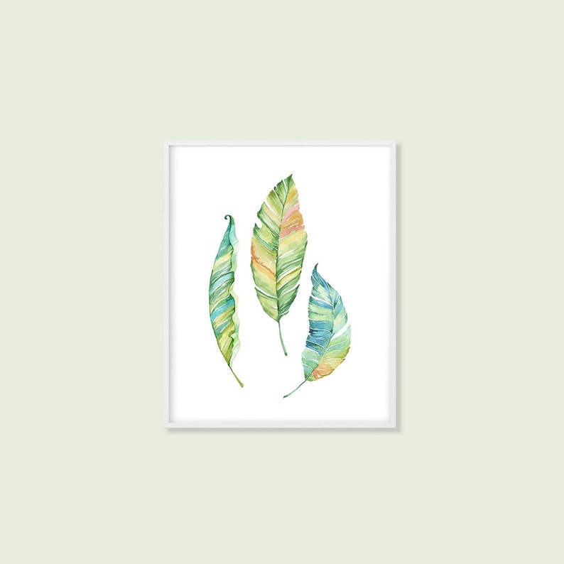 photo regarding Leaf Printable named Leaf Printable Artwork, Botanical Leaves Print, Eco-friendly Woodland Leaf Character Decor Eco-friendly Yellow Blue Watercolor Toilet Artwork 5x7 8x10 A4 Obtain