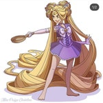 Sailor Rapunzel third payment
