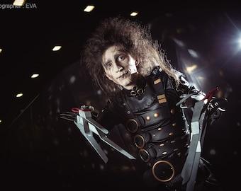 Scissorhands Tim Burton movie cosplay costume