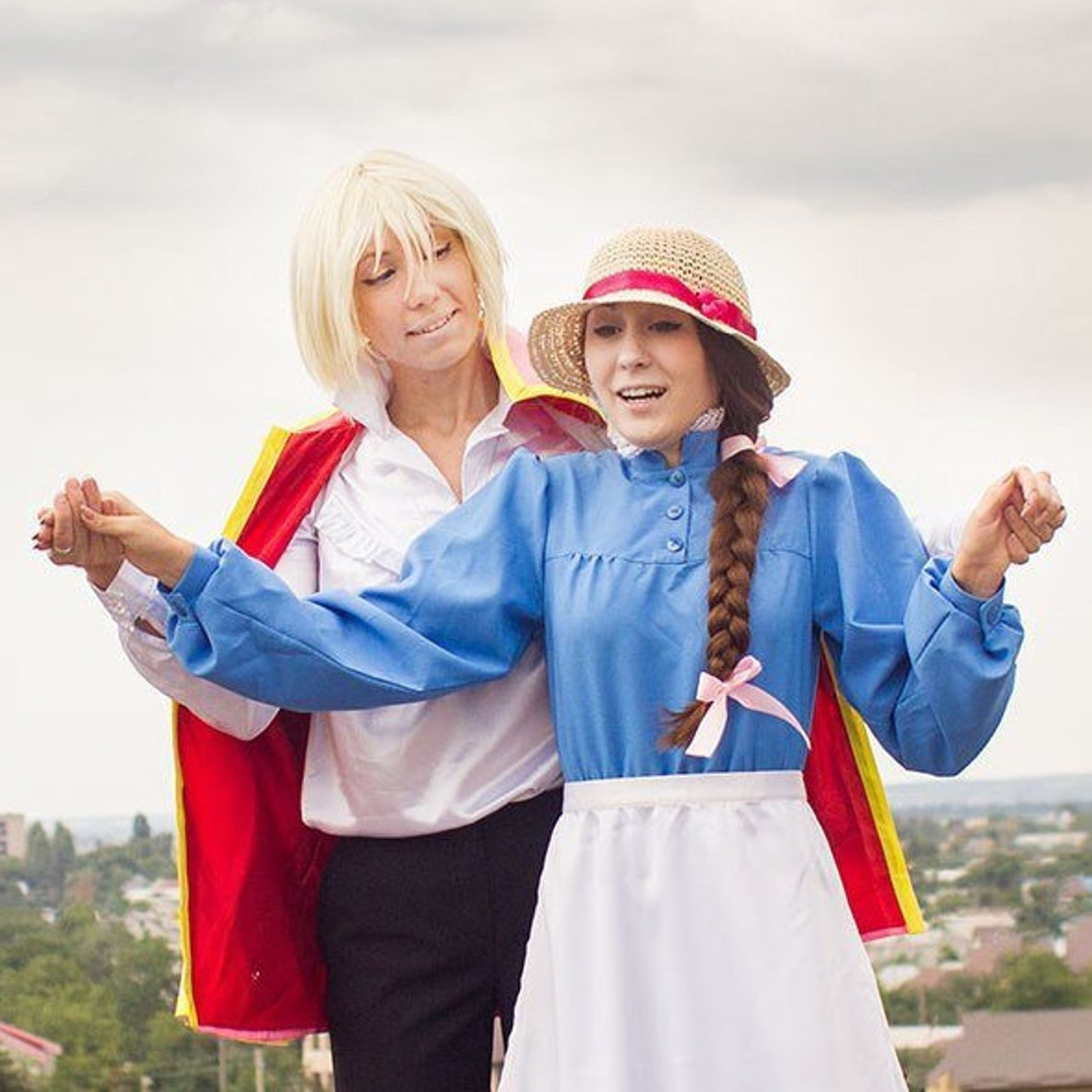 Sophie Howl's Moving Castle Cosplay costume