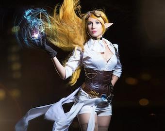 Janna Hextech League of Legend cosplay