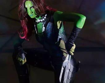 Gamora cosplay costume galaxy guardians