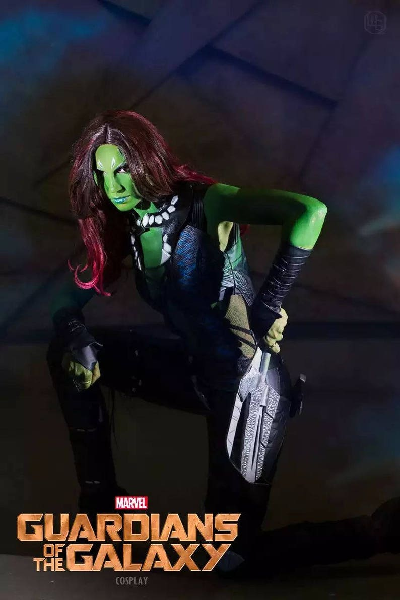 Gamora Marvel Guardians of the Galaxy cosplay costume image 0