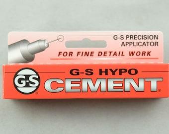 G-S HYPO CEMENT Glue.