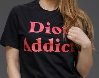 Dior addict shirt | Etsy