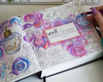 Coloring Day Planner Etsy