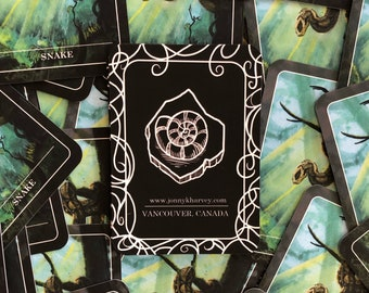 Snake Token for Magic the Gathering