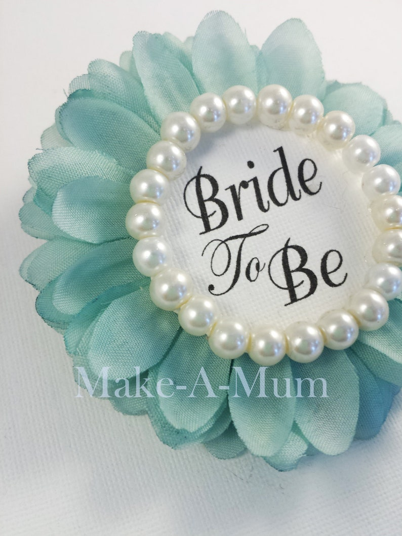 Gift for Bride To Be Wedding Shower Favors Bridal Shower Gift Ideas BR1053 Mint Wedding Party Gift Bridal Shower Corsage