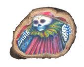 Cancion de la Muerte - postcard print on quality Cyclus 300 gsm